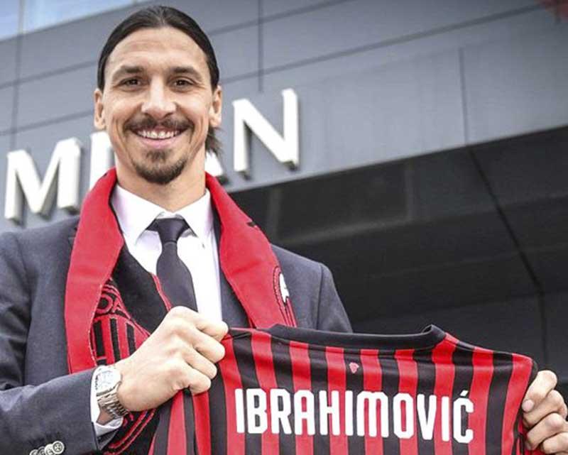 Ibra kembali berkostum AC Milan