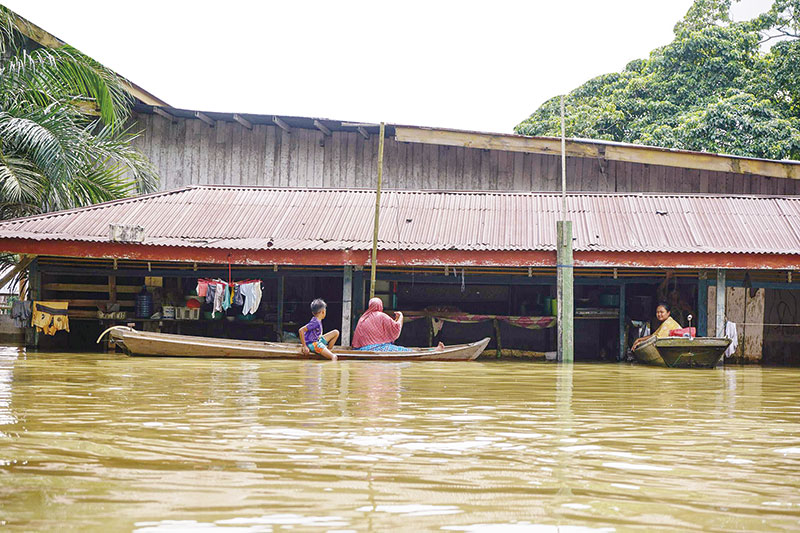 Kesulitan Ekonomi, Korban Banjir Berharap Bantuan