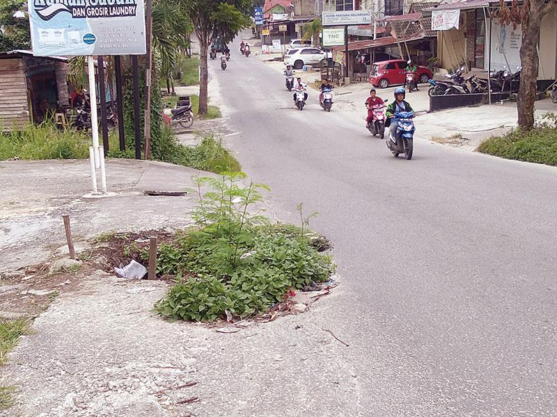 Drainase Jalan Srikandi Ambles