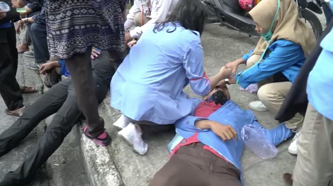 Korban Berjatuhan, Mahasiswa Menduga Ada Provokator