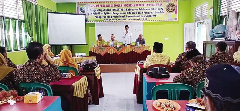 APSI Pelalawan Gelar Rakerkab 2020