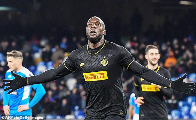 Lukaku Dua Gol, Inter Permalukan Napoli