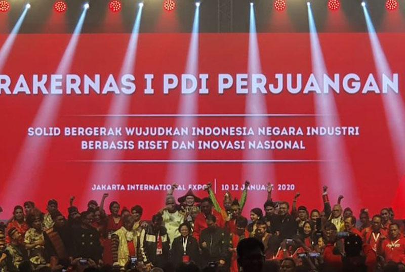 Drama Lucu Tutup Rakernas I PDIP