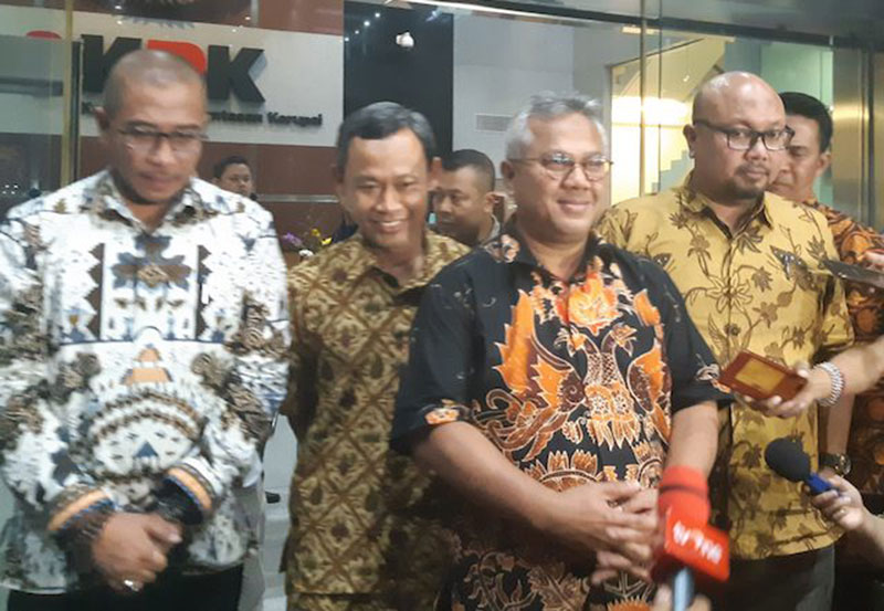 Ketua KPU Pastikan Wahyu Setiawan Terjaring OTT