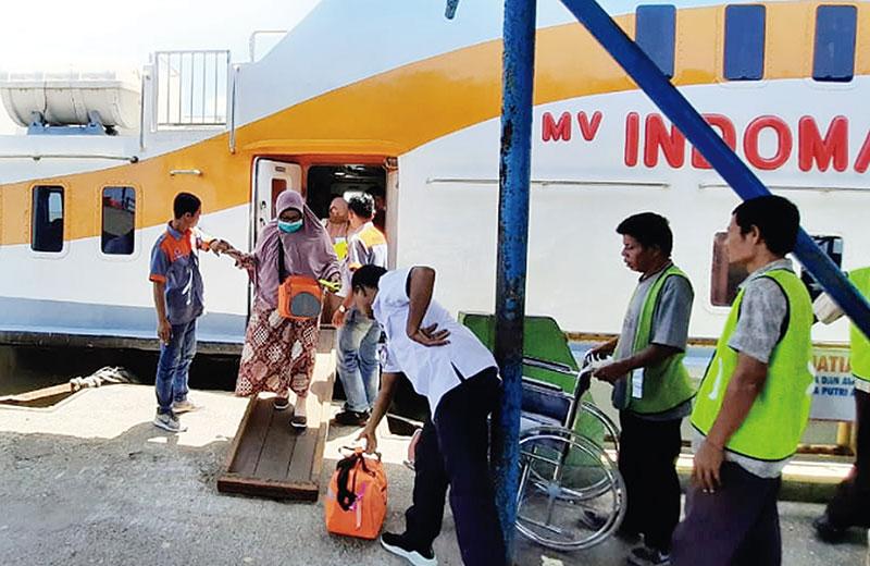 Sudah di Malaysia, Terpaksa Balik ke Dumai