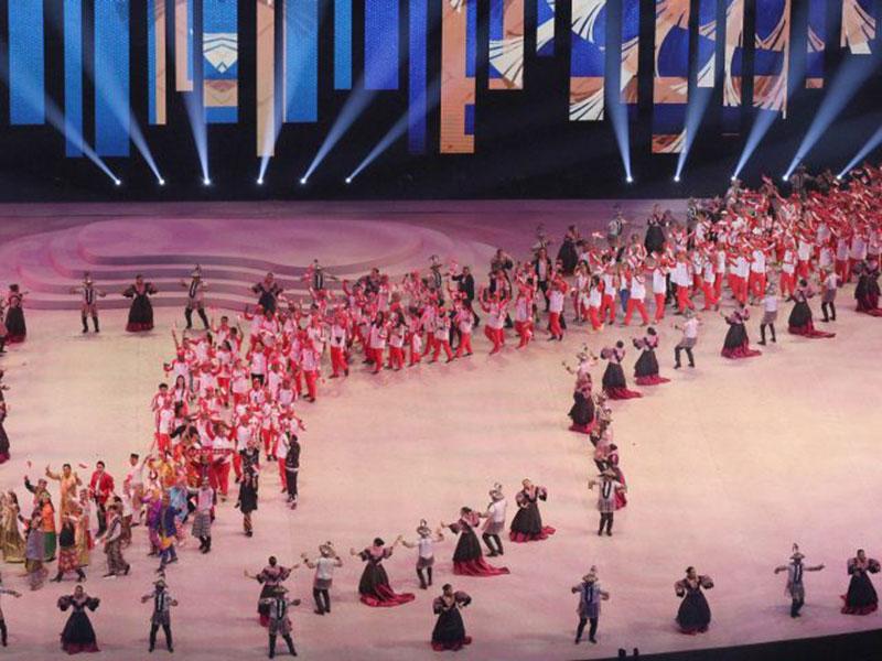Kontingen Indonesia Dapat Sambutan Hangat Pada Opening Ceremony