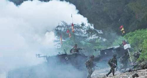 Tanjung Todak Kembali Dibuka untuk Latihan Perang