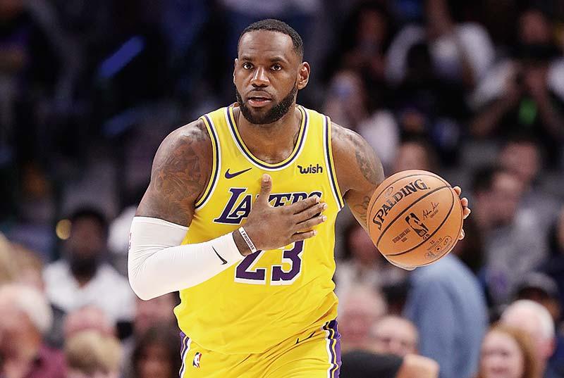 Lakers Pimpin Klasemen