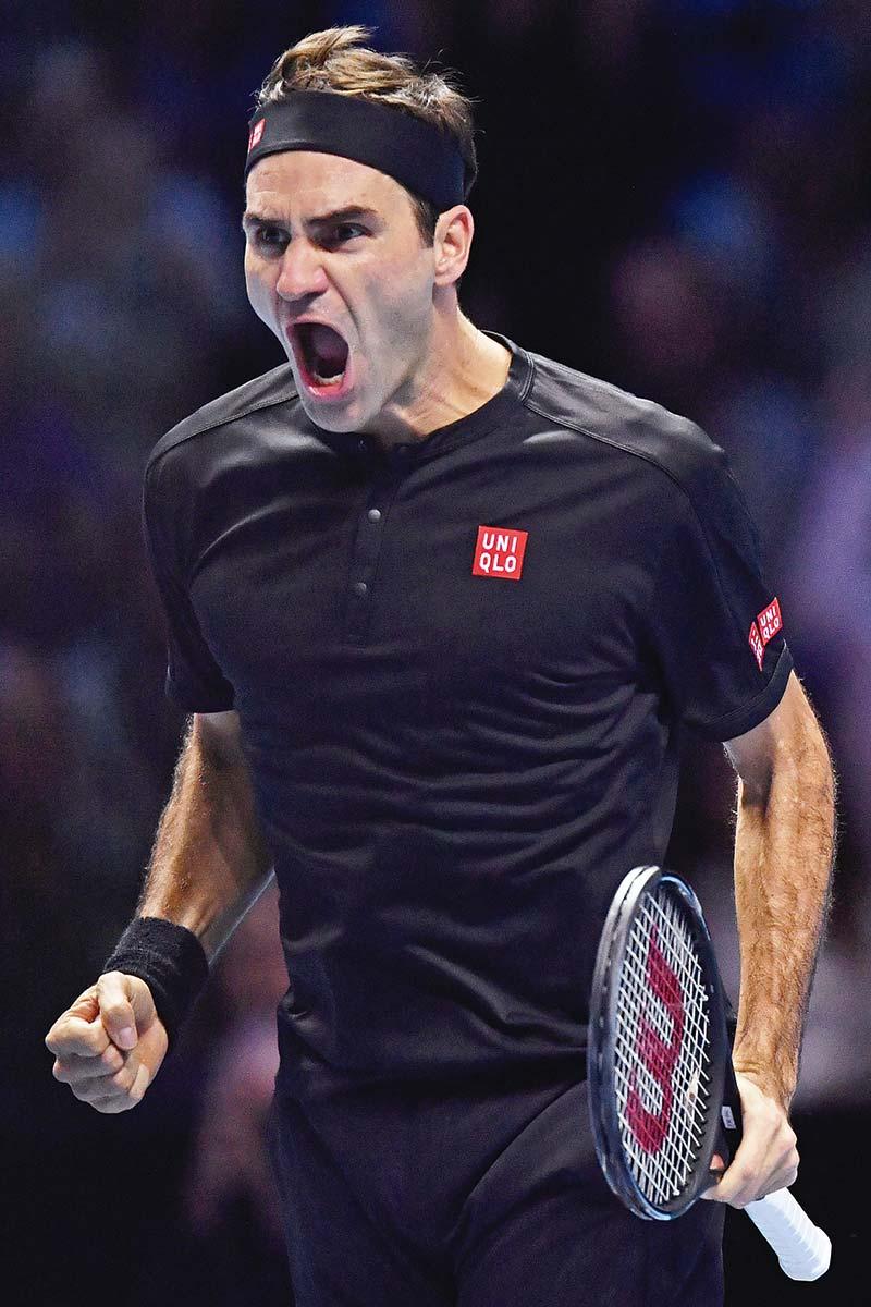 Federer Bikin Djokovic Gigit Jari