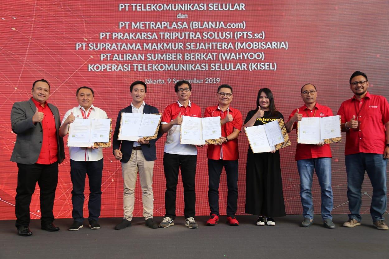 Telkomsel Dorong Komunitas Pelaku UMKM Go Digital
