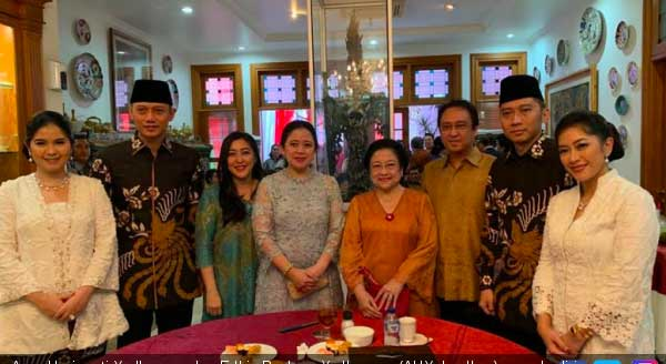 Jangan Dipolitisir Kunjungan AHY dan Ibas ke Rumah Megawati Soekarnoputri