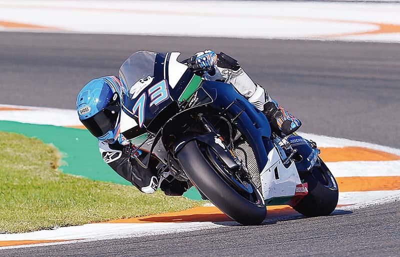 Alex Senang Mentas di Jerez