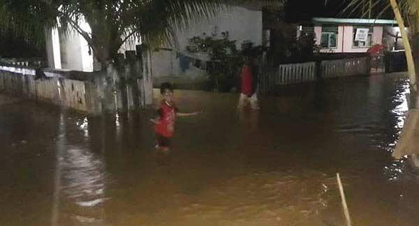 Dua Kabupaten Dilanda Banjir