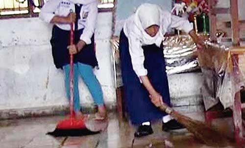 Jelang HUT Ke-73 Kemerdekaan Republik Indonesia Ratapan Ibu Dibersihkan,TNI Siap Kibarkan Bendera Raksasa