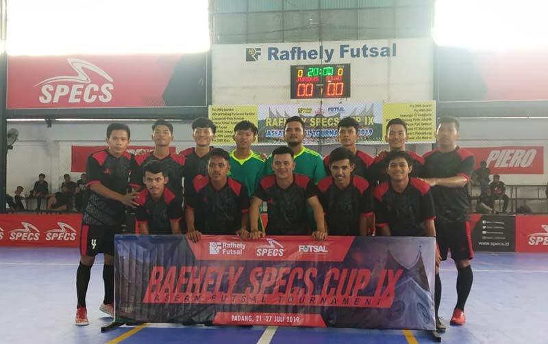 Pra-PON Riau Lolos 8 Besar Rafhely Specs Cup IX