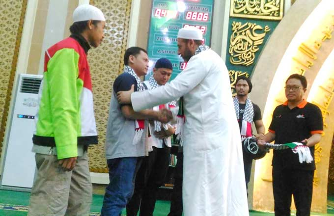 Dari Riau untuk Palestina