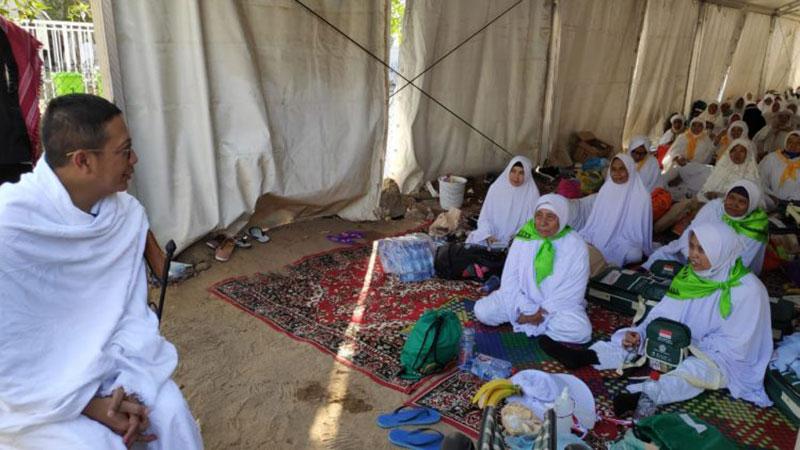 Menag: Pergerakan ke Arafah Lancar