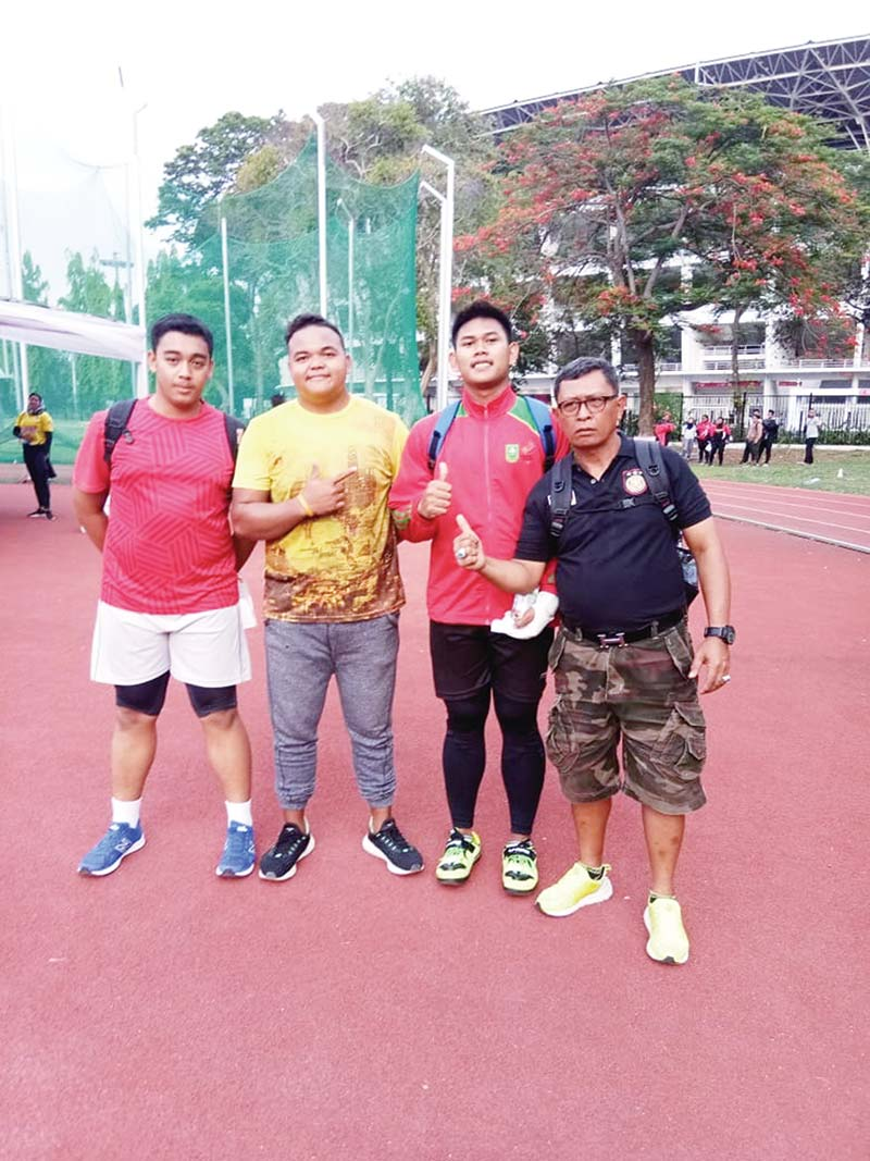 Atletik Sumbang Dua Medali Laporan DOFI ISKANDAR, Jakarta