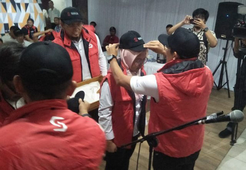 Sandi dan Agus Deklarasikan Relawan Siaga