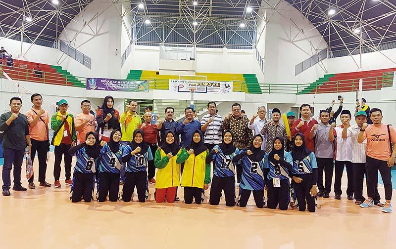 Voli Putri Riau ke Perempatfinal