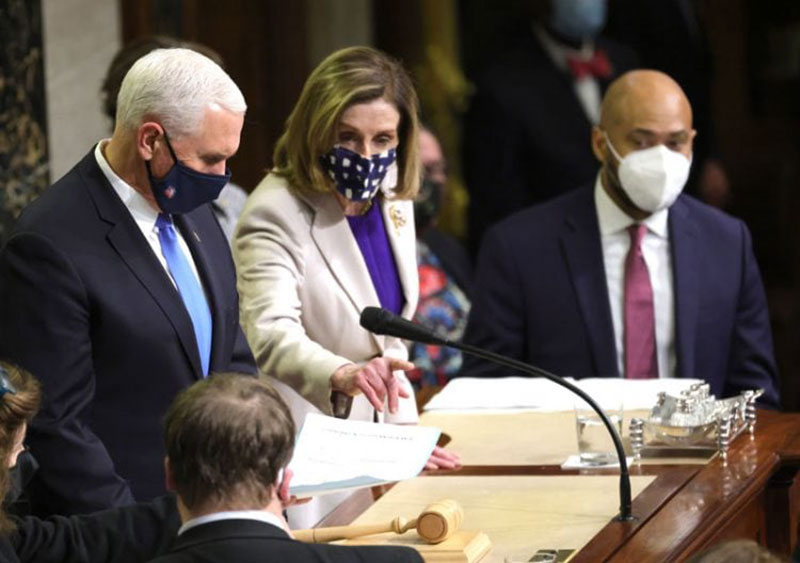 Wapres Mike Pence Pastikan Pelantikan Biden Aman