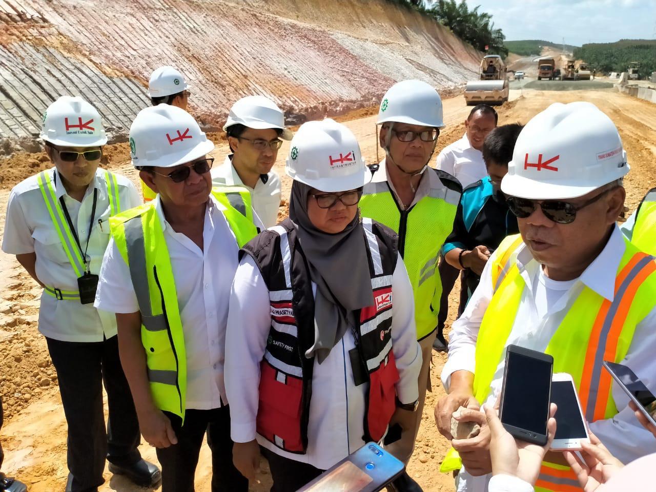 HK Pastikan Pembangunan Tol Permai Tak Terpengaruh Corona