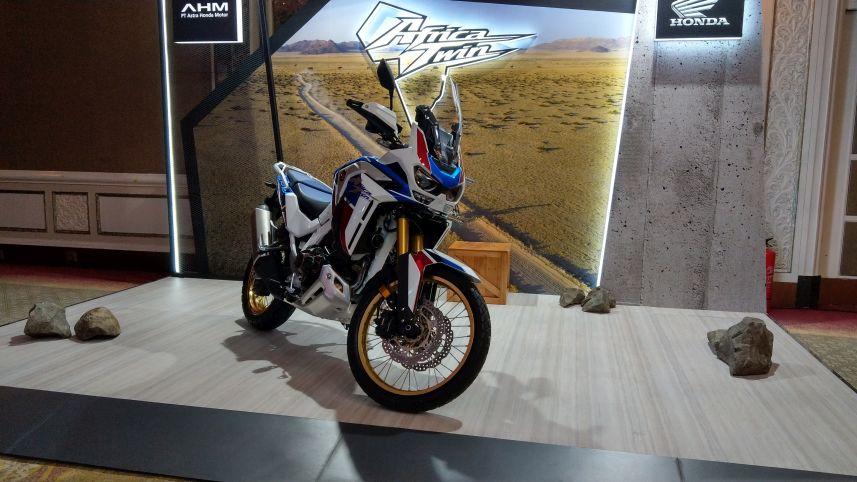 Intip Honda CRF1100L Seharga Pajero Sport Baru