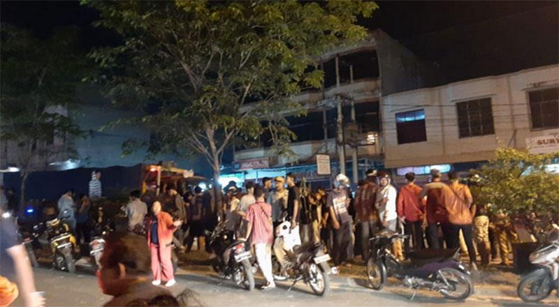 Malam Takbiran, Pengendara Motor Kecelakaan Tunggal dan Tewas di Duri