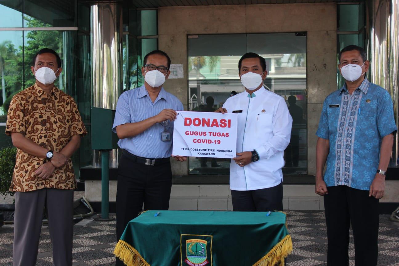 Komitmen Bridgeston Indonesia bantu Pemerintah Tangani Pandemi