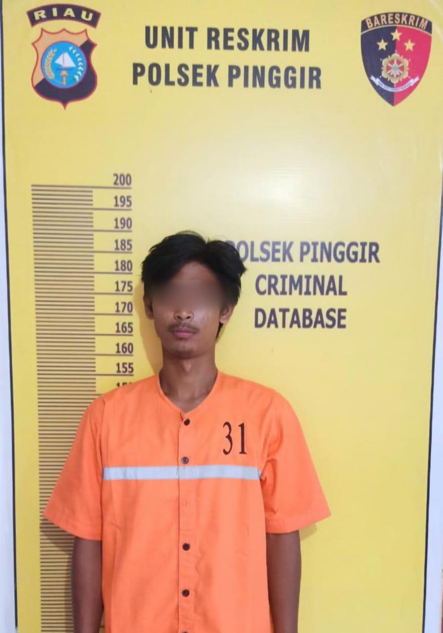 Pencuri Rambu Jalan Ditangkap Polsek
