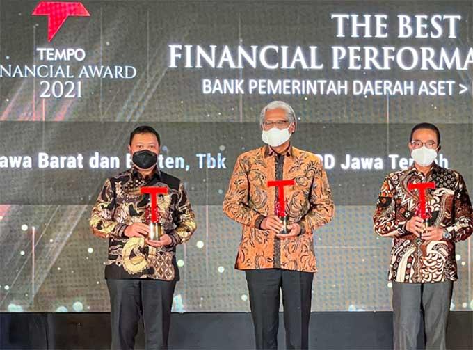 Bank BJB Raih Penghargaan The Best Financial Performance Bank