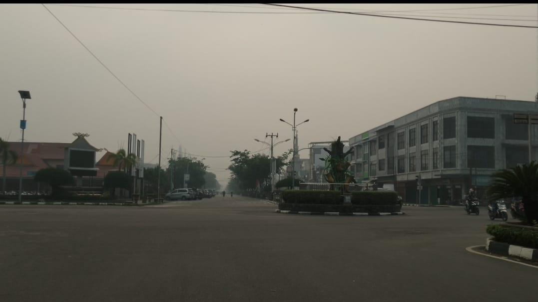 Kabut Asap Menipis, Namun Udara Dumai Masih Tidak Sehat