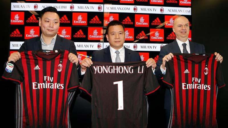 AC Milan Dicoret, Nama Mr Li Disebut-sebut