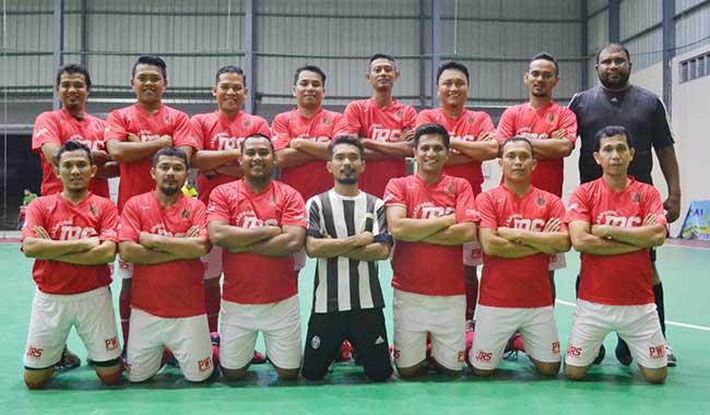 Tim Futsal SIWO Riau Siap Tempur