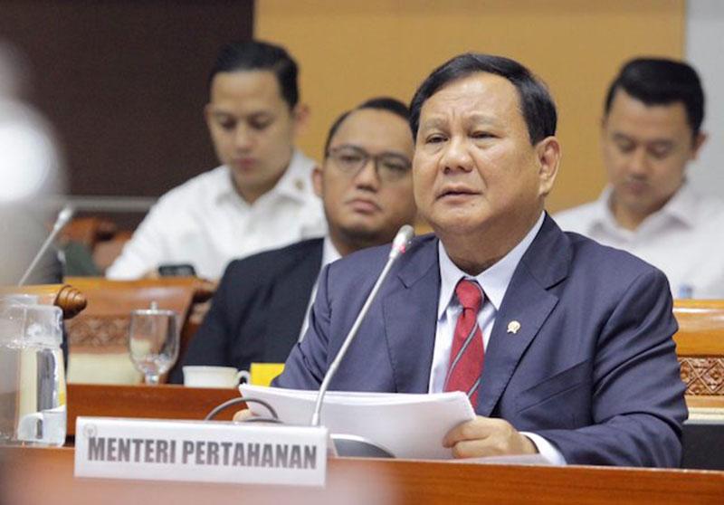 Prabowo Paparkan Perang Rakyat Semesta