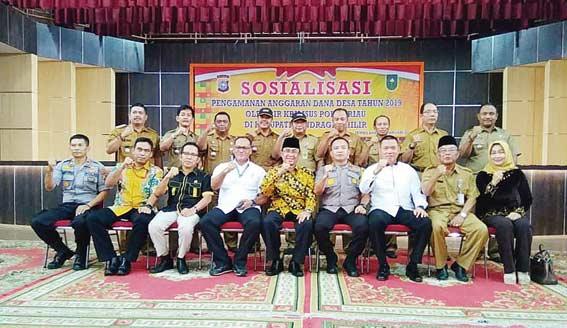 Bupati Hadiri Sosialisasi Pengamanan ADD