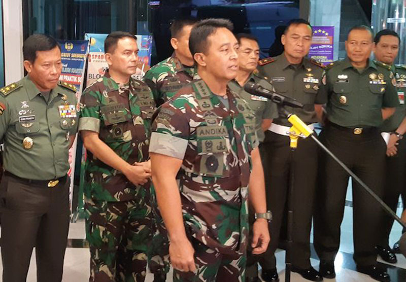 Dandim Kendari Ditahan 14 Hari Lantaran Istrinya Sindir Wiranto