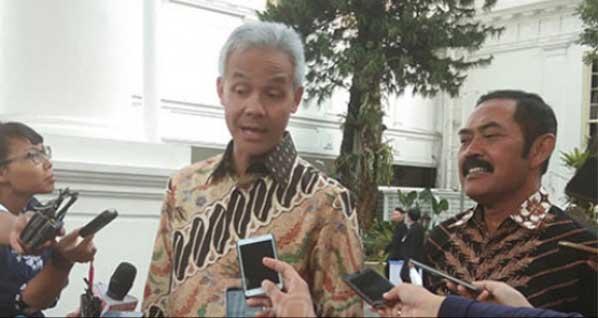 Ganjar Meradang Dituduh Biang Gagalnya Kampaye Prabowo di Lapangan Pancasila