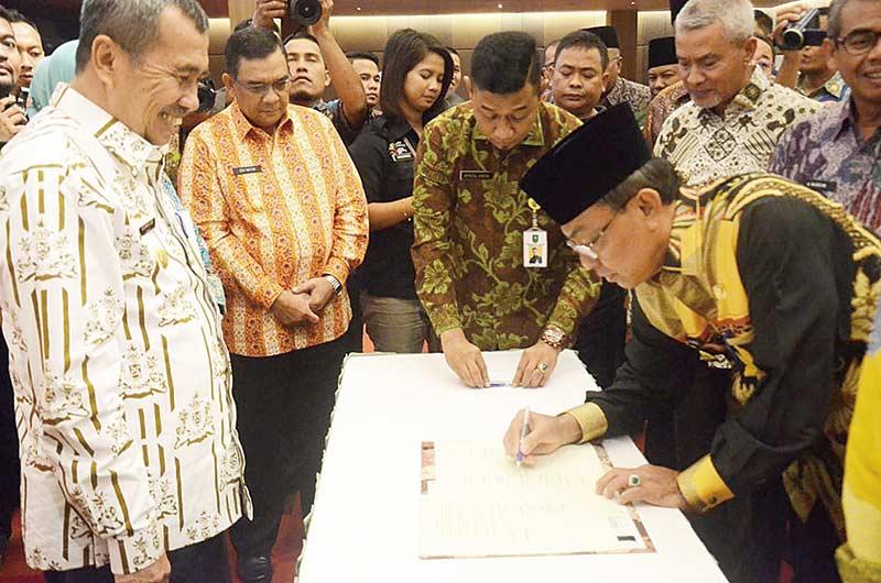 Bupati Hadiri Musrenbang RKPD Provinsi