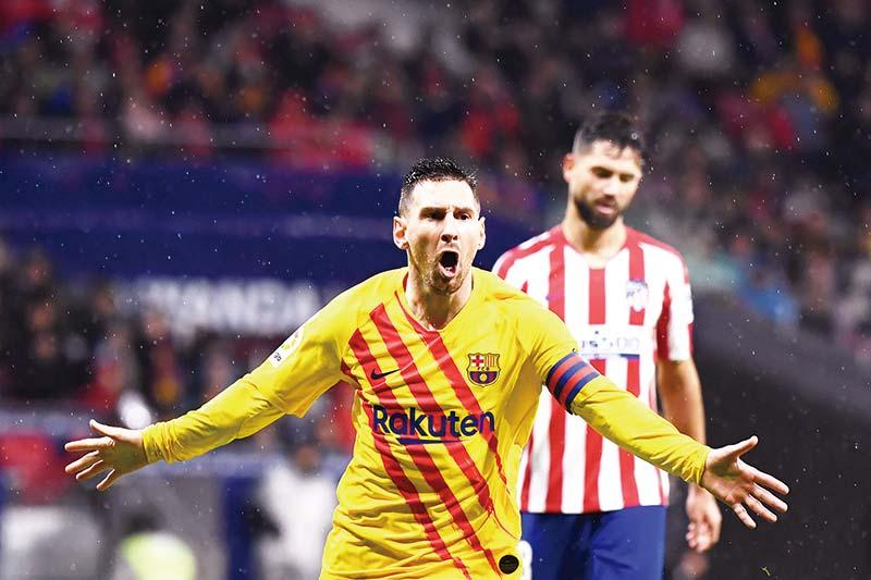 Gagal Bendung Messi