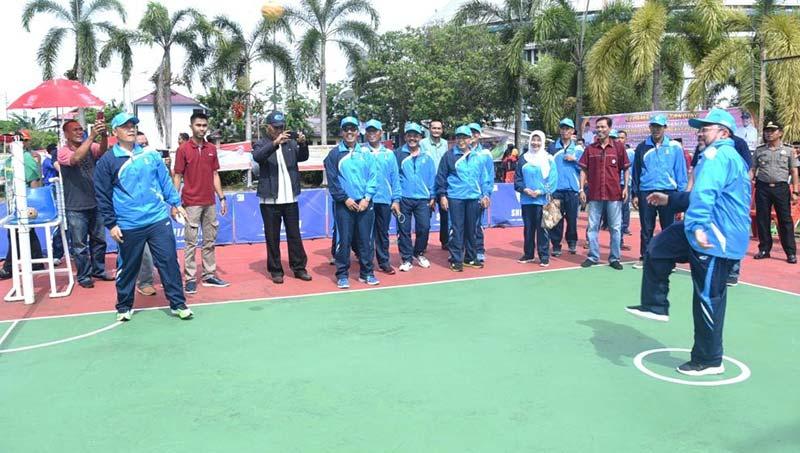 Kejuaraan Futsal dan Sepaktakraw Ajang Seleksi