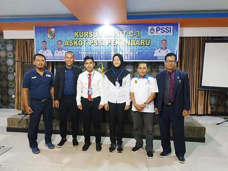 PSSI Pekanbaru Cetak Wasit C-3