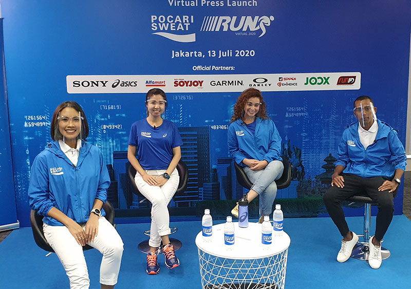 Melalui Virtual Press Launch, Pocari Sweat Umumkan Gagas Iven Run Virtual 2020