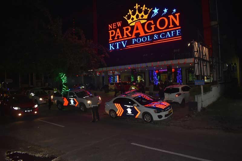 Polisi Razia Tiga THM