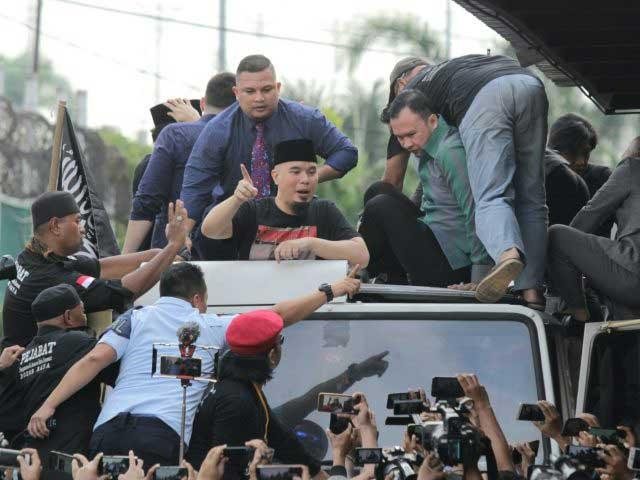 Ahmad Dhani Tetap Jagokan Prabowo Jadi Presiden Pascabebas dari Penjara