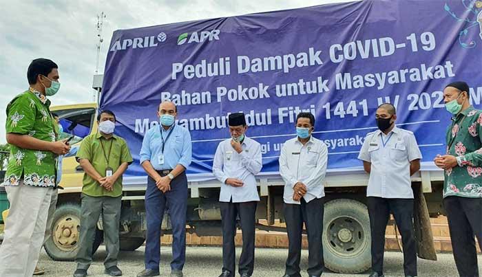 RAPP dan APR Serahkan 10.905 Paket Bapokmas di 5 Kabupaten