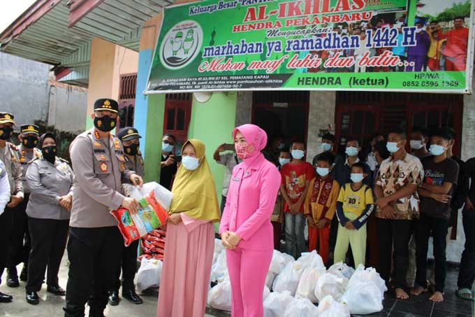 HUT Bhayangkara, 1.000 Paket Sembako Dibagikan