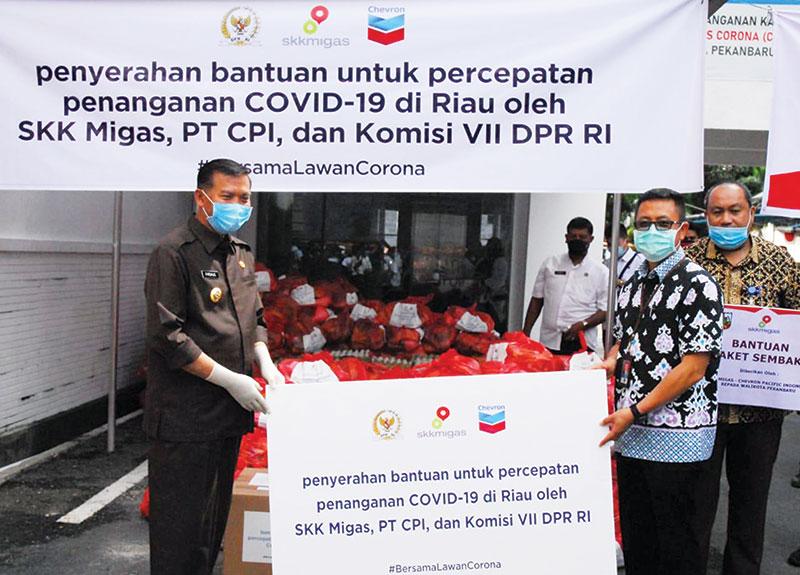 SKK Migas-PT CPI Salurkan Total Bantuan Rp11,6 M