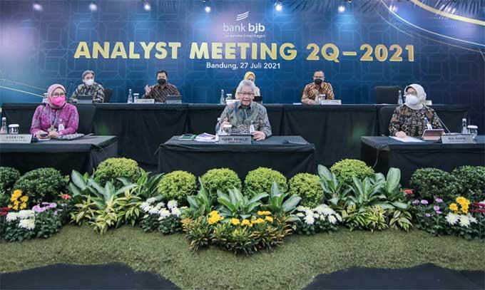 Triwulan II 2021, Laba Bank BJB Tumbuh Positif