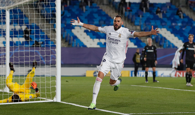 Seret Gol, Madrid RinduBenzema ·